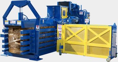 ATOM Series industrial horizontal baler equipment