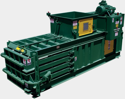Closed Door Series horizontal industrial baler equipment