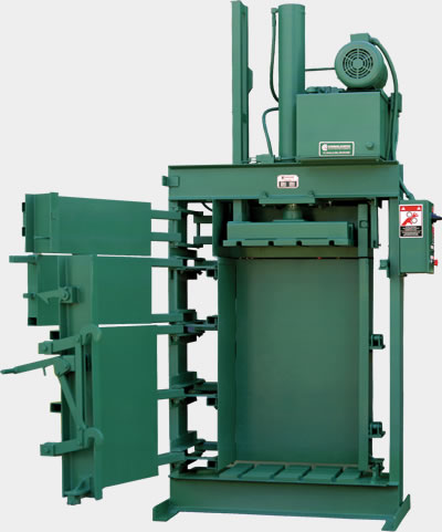 DHWS textile industrial baler series