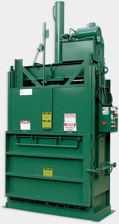 IVB Series industrial vertical baler equipment