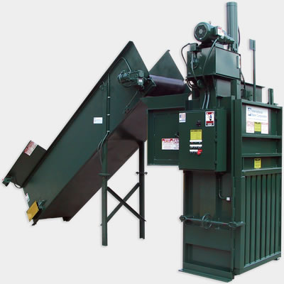 RHC Series vertical industrial baler equipment