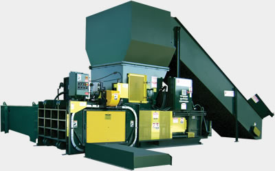 Two-Ram horizontal industrial baler series