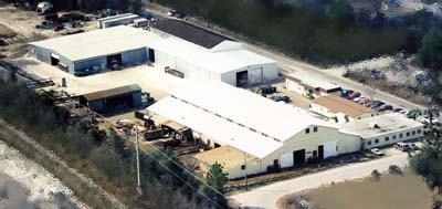Baler construction and fabrication from our multi-acre facility in Jacksonville, Florida.