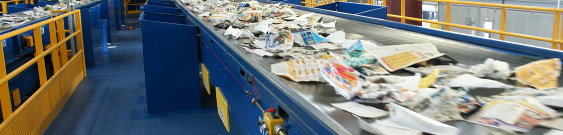 Serving recycling centers with industrial baler equipment