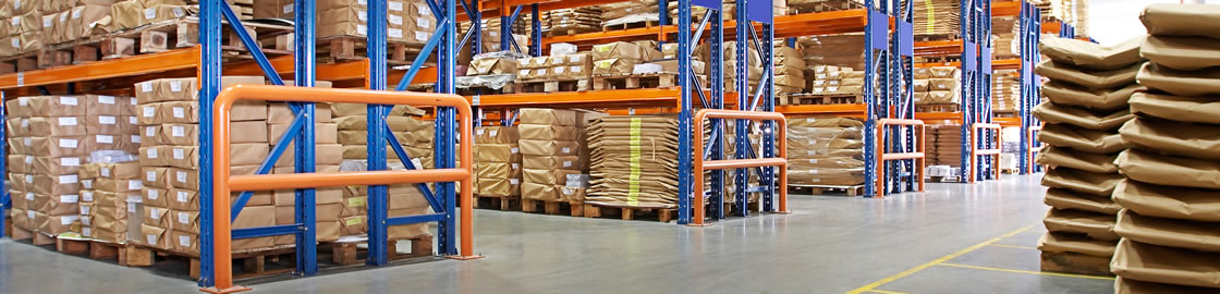 Serving warehouse and distribution centers with industrial baler equipment