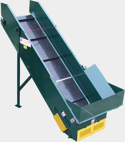 Conveyor specialty industrial baler series